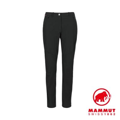【Mammut】Hiking Pants 經典健行長褲 黑色 女款 #1022-00430