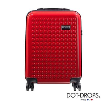 DOT-DROPS 20 吋 Chapter 2 輕量客製點點硬殼行李箱 - 熱情紅