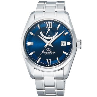 ORIENT 東方錶 STAR東方之星機械手錶RE-AU0005L -藍X銀/40mm