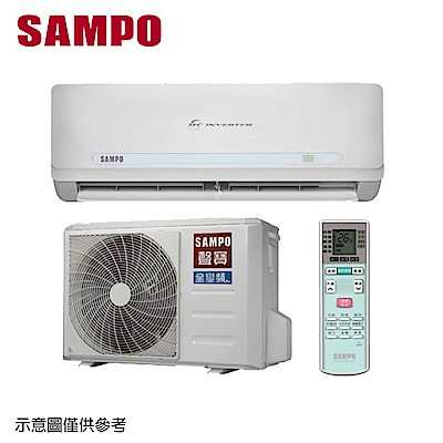 SAMPO聲寶 10-12坪變頻分離式冷氣AU-QC80D/AM-QC80D
