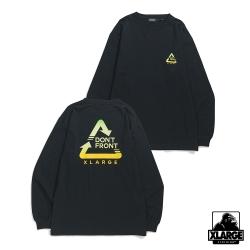 XLARGE L/S TEE ALWAYS長袖T恤-黑