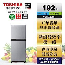 TOSHIBA東芝 192L 1級變頻2門電冰