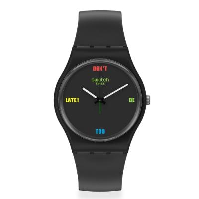 Swatch 菁華系列手錶 DB2L 及時趕上-34mm