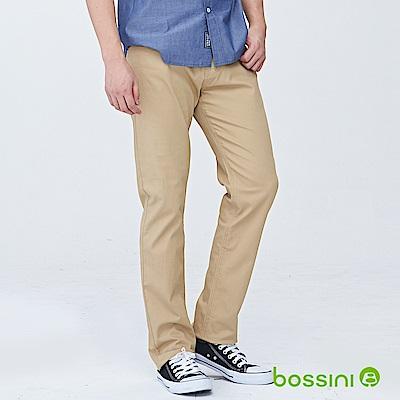 bossini男裝-修身卡其長褲02深褐