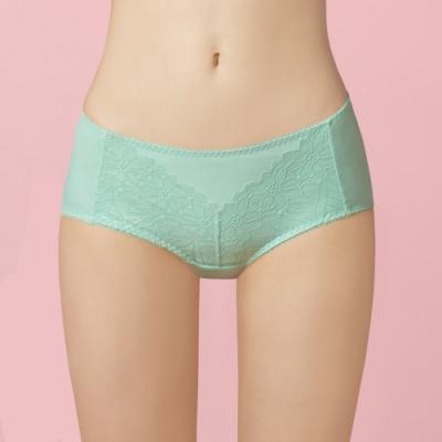 曼黛瑪璉 包覆提托經典低腰平口內褲 (碧草綠)