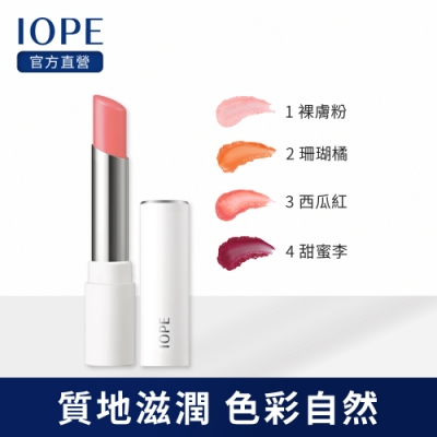 IOPE艾諾碧 晶透粉潤校色護唇膏3.2g