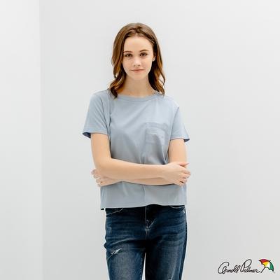 Arnold Palmer -女裝-普普風印花 LOGO TEE-淺藍色