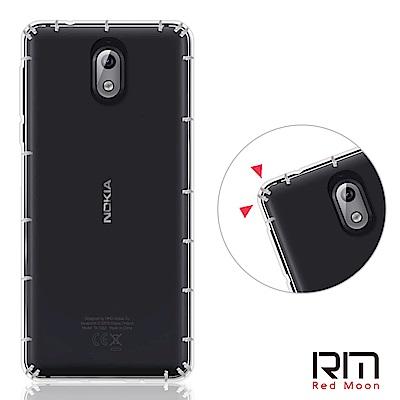 RedMoon Nokia 3.1 防摔透明TPU手機軟殼