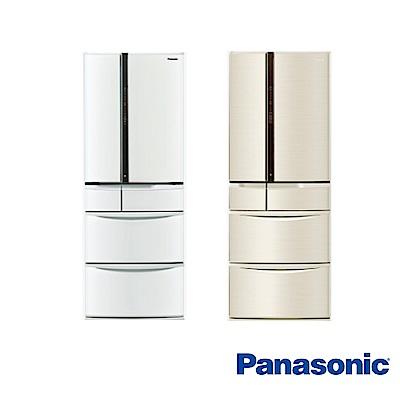Panasonic國際牌 501L 1級變頻6門電冰箱 NR-F504VT