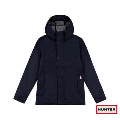 HUNTER - 男裝 - 輕量橡膠夾克 - 深藍