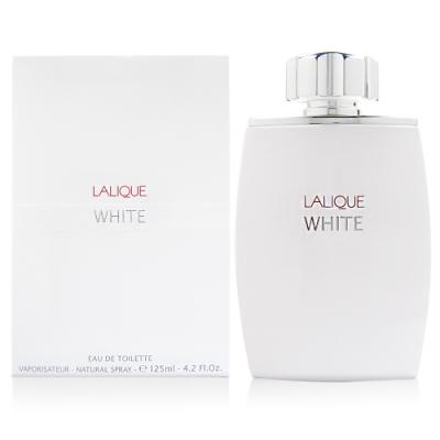 LALIQUE 萊儷 White 白光時尚男性淡香水 125ml