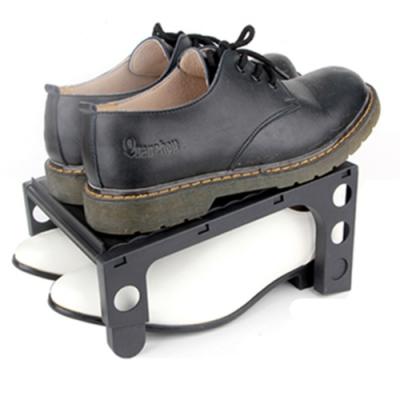 【KM生活】可調式鞋架收納鞋架3入/組(顏色隨機)