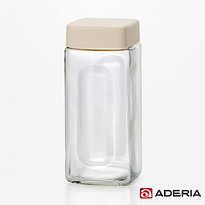 ADERIA 日本進口玻璃醃漬瓶900ML(白)