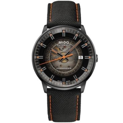 MIDO美度 Commander香榭系列 漸層80小時機械腕錶(M0214073741100)-40mm