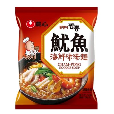 農心 魷魚海鮮味湯麵(124g)