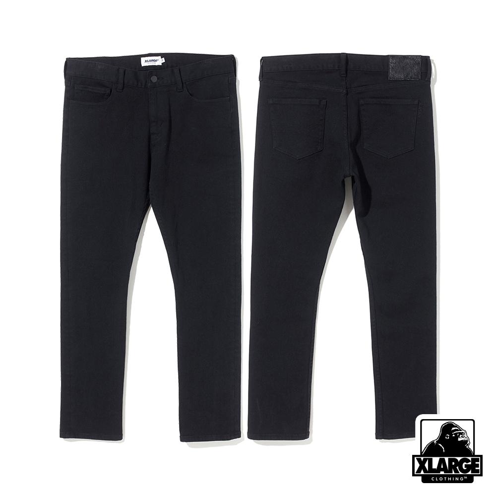 XLARGE KINNY DENIM PANT牛仔褲-黑
