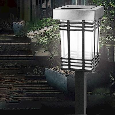 【KINYO】太陽能LED庭園燈-白光(GL-6028)