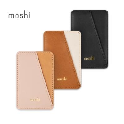 Moshi SnapTo Slim Wallet iPhone 磁吸卡套