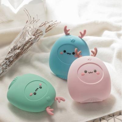 萌小鹿熱水袋 (可微波可冷藏/矽膠注水式/暖手寶/冷熱兩用/聖誕交換禮物)