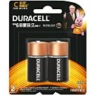 Duracell金頂鹼性電池 2號C(2入)