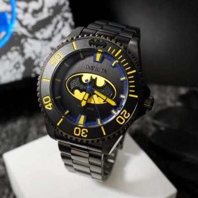 INVICTA 英威塔 DC正義聯盟限定版 (蝙蝠俠) 機械錶