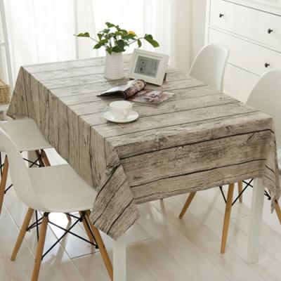 復古懷舊棉麻餐桌布-100*140中款