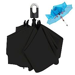 雙龍TDN 收的妙 一按秒收玻璃纖維反向傘-神秘黑