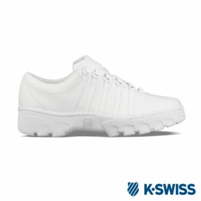 K-SWISS North Classic復古鋸齒鞋-男-白