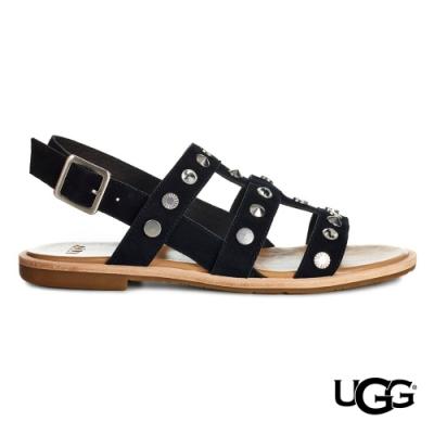 UGG女士 Zariah鉚釘綁帶涼鞋