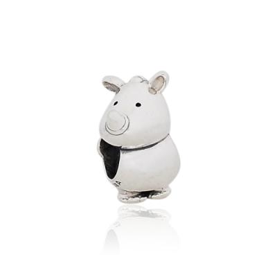 Pandora 潘朵拉 魅力犀牛Rino 純銀墜飾 串珠