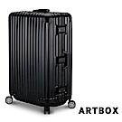 【ARTBOX】威尼斯漫遊-29吋PC鏡面鋁框行李箱 (黑色)