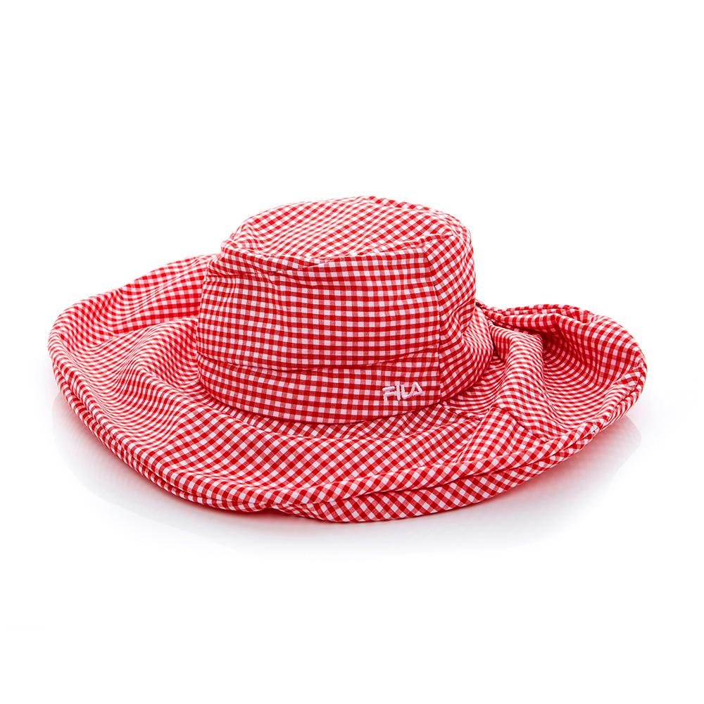 FILA 時尚遮陽帽-紅 HTT-1010-RD