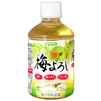 DYDO 清爽梅子果汁飲料(280ml)