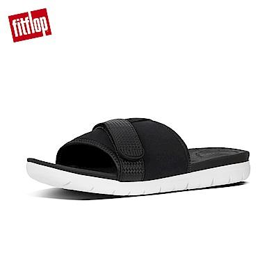 FitFlop NEOFLEX SLIDE SANDALS-黑色