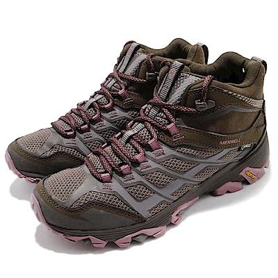 Merrell 戶外鞋 Moab FST Mid 防水 女鞋