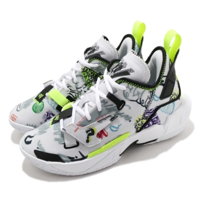 Nike 籃球鞋 Why Not Zer0.4 運動 女鞋 喬丹 避震 包覆 支撐 大童 球鞋 白 彩 DD9659007