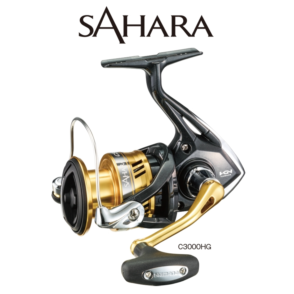 【SHIMANO】SAHARA C3000DH - C5000 紡車捲線器