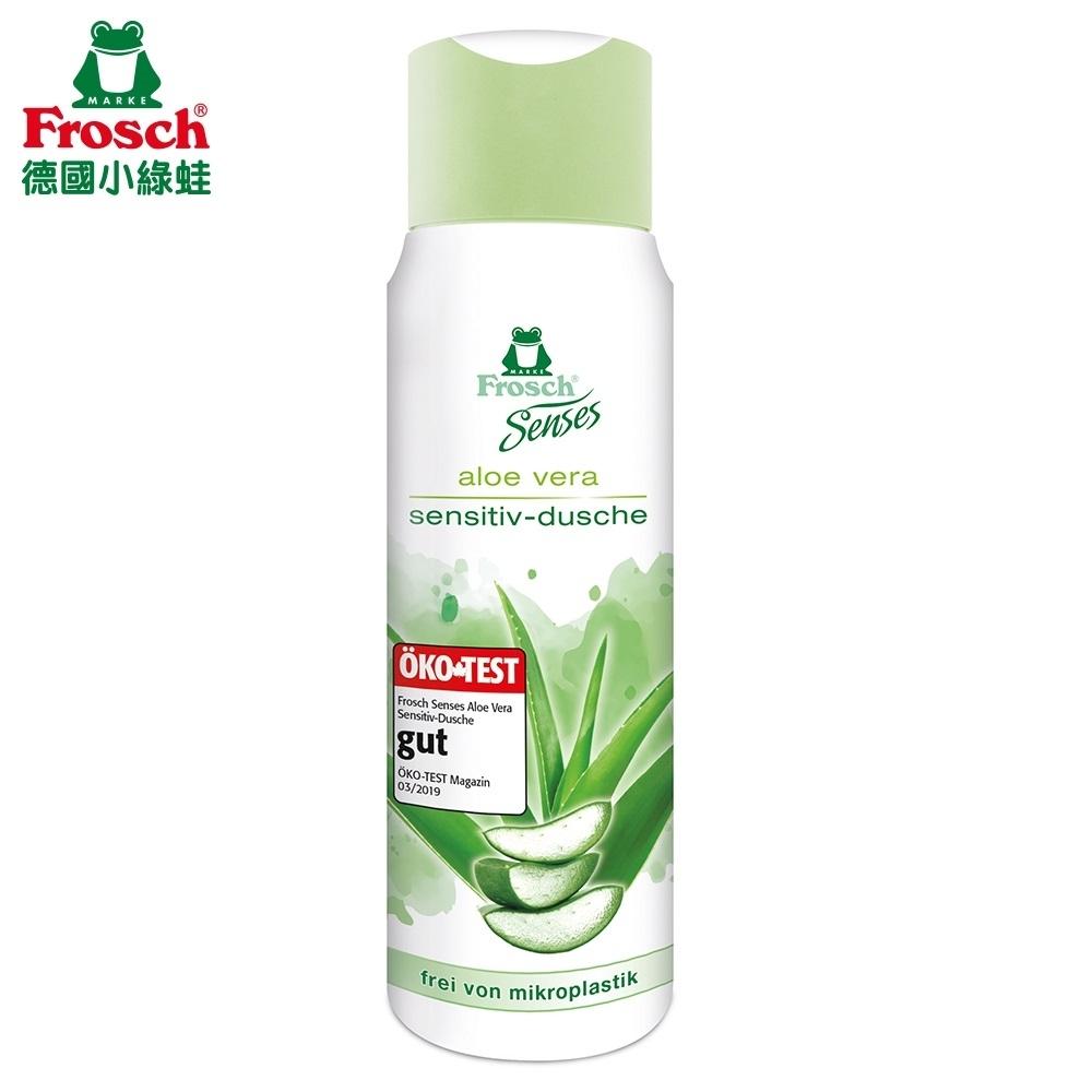 Frosch德國小綠蛙 蘆薈植粹淨膚pH5.5沐浴乳300ML