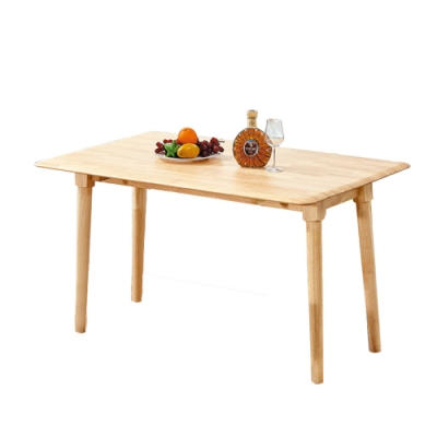 柏蒂家居-溫蒂4.3尺摺合實木餐桌-130x50~80x75cm