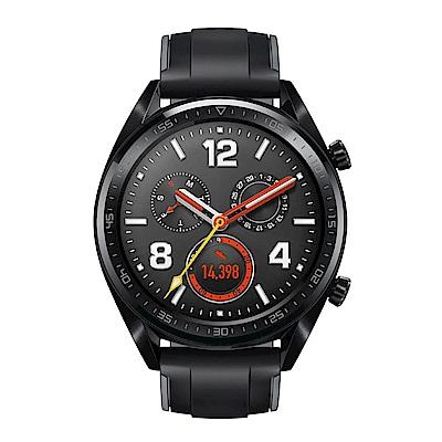 HUAWEI華為 Watch GT 運動智慧手錶 (曜石黑矽膠錶帶)