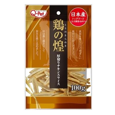 【2入組】日本Q-Pet巧沛-雞煌厚切雞肉片 100g