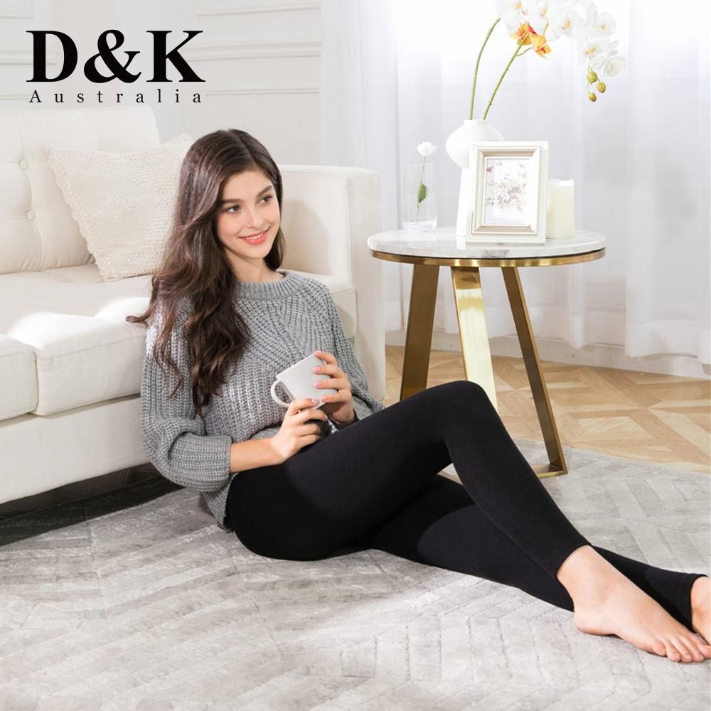 澳洲 D&K UGG 美麗諾羊絨保暖塑身褲 HA玻尿酸添加  全台首賣