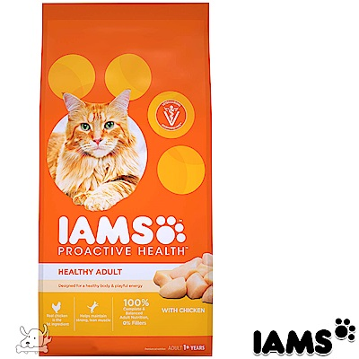 IAMS 愛慕思 健康優活 雞肉 成貓糧 3.5磅