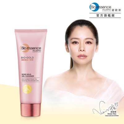 Bio-essence碧歐斯 BIO金萃玫瑰黃金活顏潔面凝膠100g