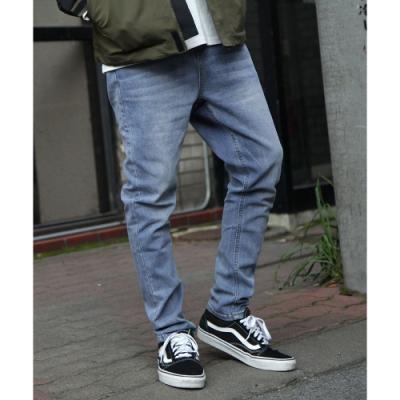 窄管牛仔褲(5色) -ZIP日本男裝