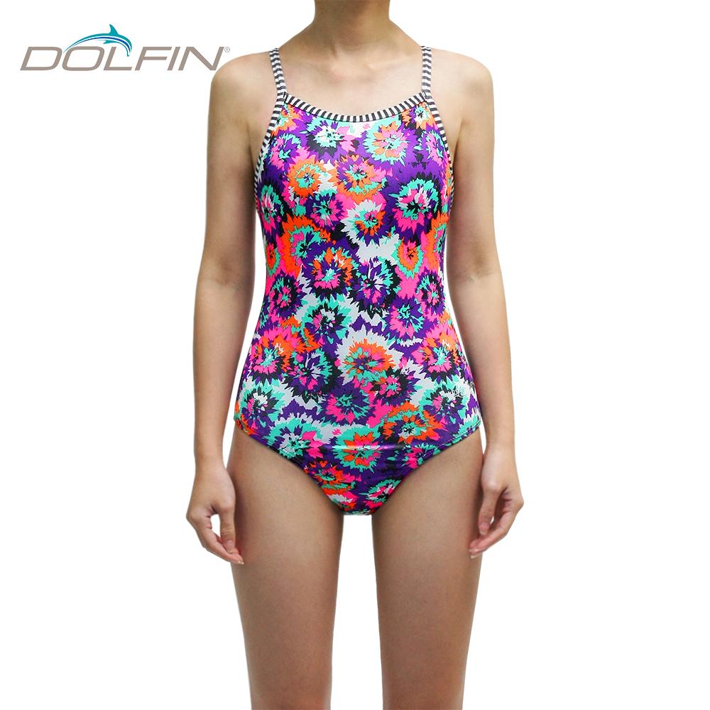 美國DOLFIN 女性運動連身泳裝 Cosmo