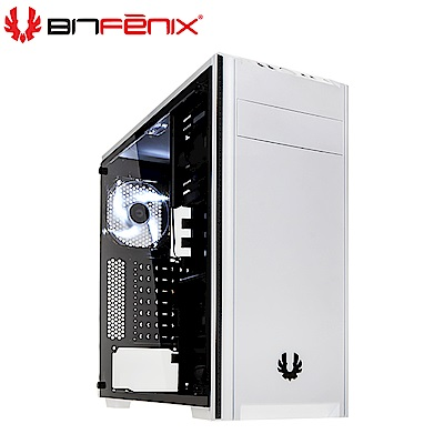Bitfenix 火鳥 Nova TG(W) 諾瓦星 白 ATX 玻璃透側 電腦機殼