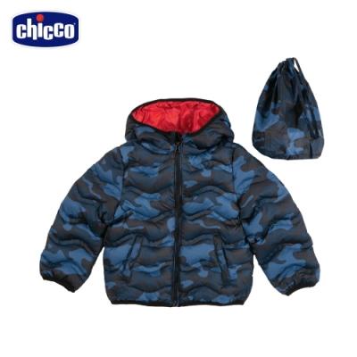 chicco-To Be B-迷彩舖棉外套(附收納袋)