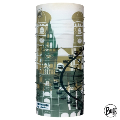 【西班牙BUFF】經典頭巾 Plus-城市系列-慕尼黑