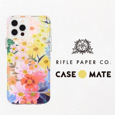 美國 Case-Mate iPhone 13 Rifle Paper Co. 限量聯名款防摔抗菌手機保護殼 - 瑪格麗特